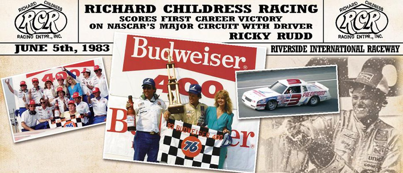 RCR 50 TBT: Rudd Earns RCR's first NASCAR Cup Series Win at Riverside
