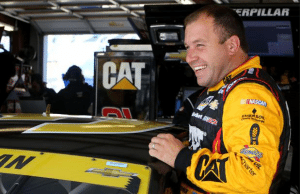 Ryan Newman During Practice
