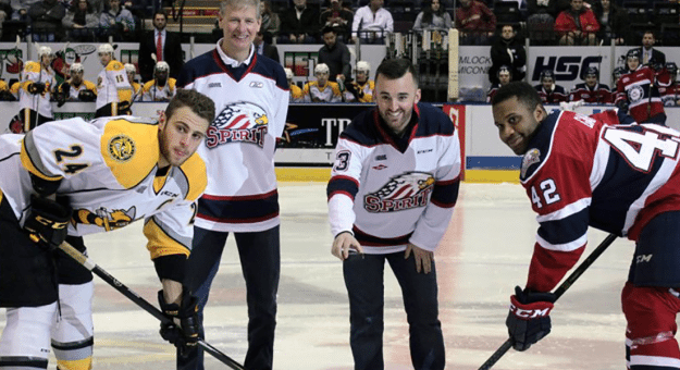Austin Dillon Saginaw Spirit