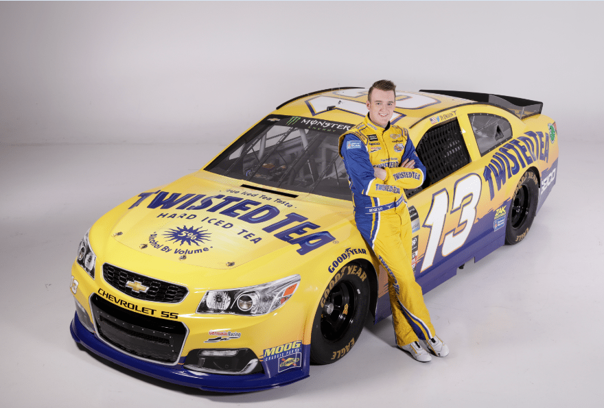 Twisted Tea Partners With Ty Dillon Rcr And Germain Racing