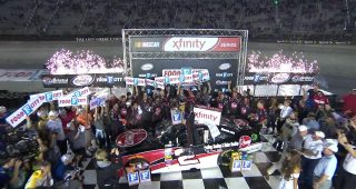 Austin Dillon Wins at Bristol Motor Speedway
