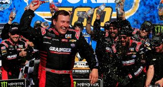 Newman Captures Victory at Phoenix