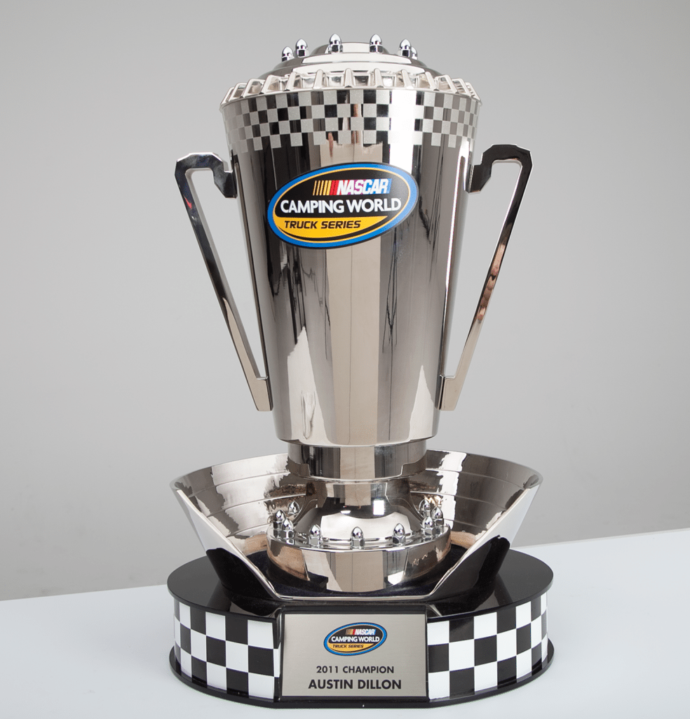 Hall Of Fame Worthy 2011 Truck Series Championship Trophy