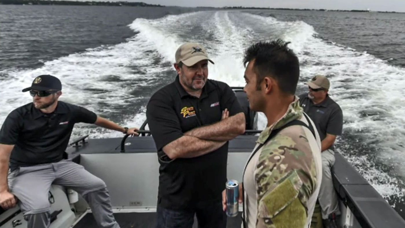 Brendan Gaughan Visits U.S. Air Force Special Tactics Unit