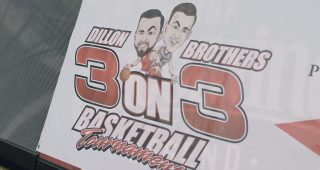 Dillon Brothers Hoop It Up with Celebrities for The Childress Institute