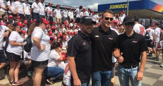 Camp Luck Kids Get Visit From RCR XFINITY Series Teams