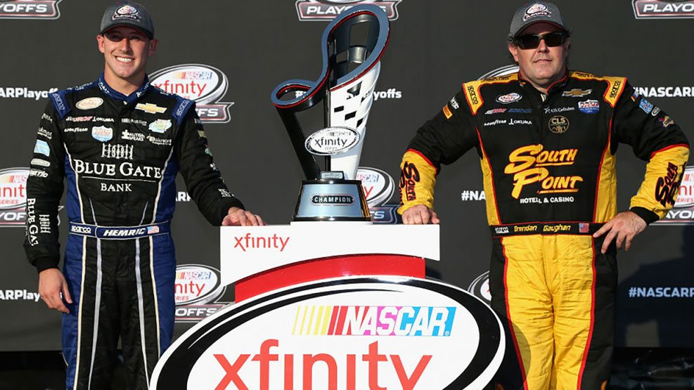Brendan Gaughan, Daniel Hemric Ready for NASCAR Playoffs