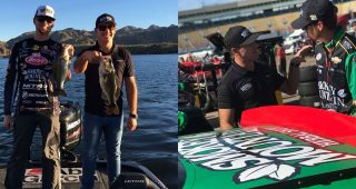 Smokey Mountain Role Reversal: Daniel Hemric Learns to Fish