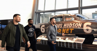 Austin Dillon Introduces UFC Stars to NASCAR