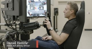iRacing with the Pros: Daniel Hemric Takes Us Around Atlanta