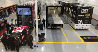 RCR Cup Haulers Load Up for Daytona Speedweeks