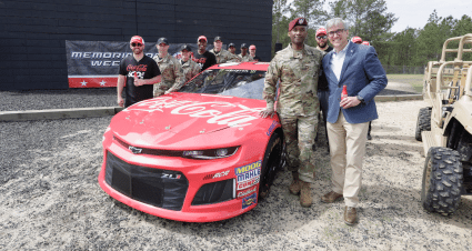 Coca-Cola to Serve as Primary Sponsor on No. 3 Chevy for Coke 600