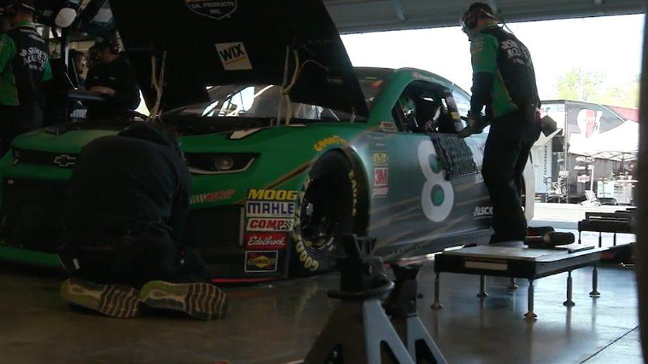 GarageCam: Daniel Hemric gears up for big moment at Richmond