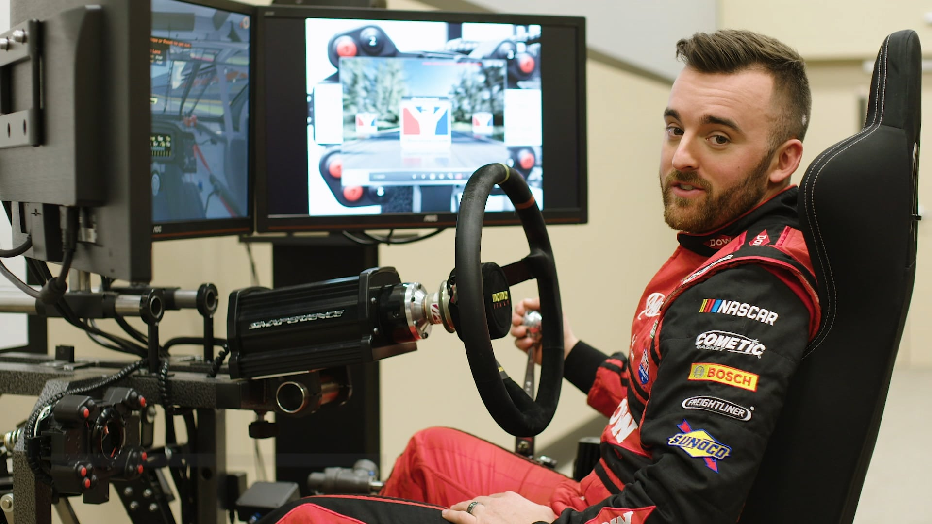 iRacing with the Pros: Austin Dillon Takes Us Around Charlotte