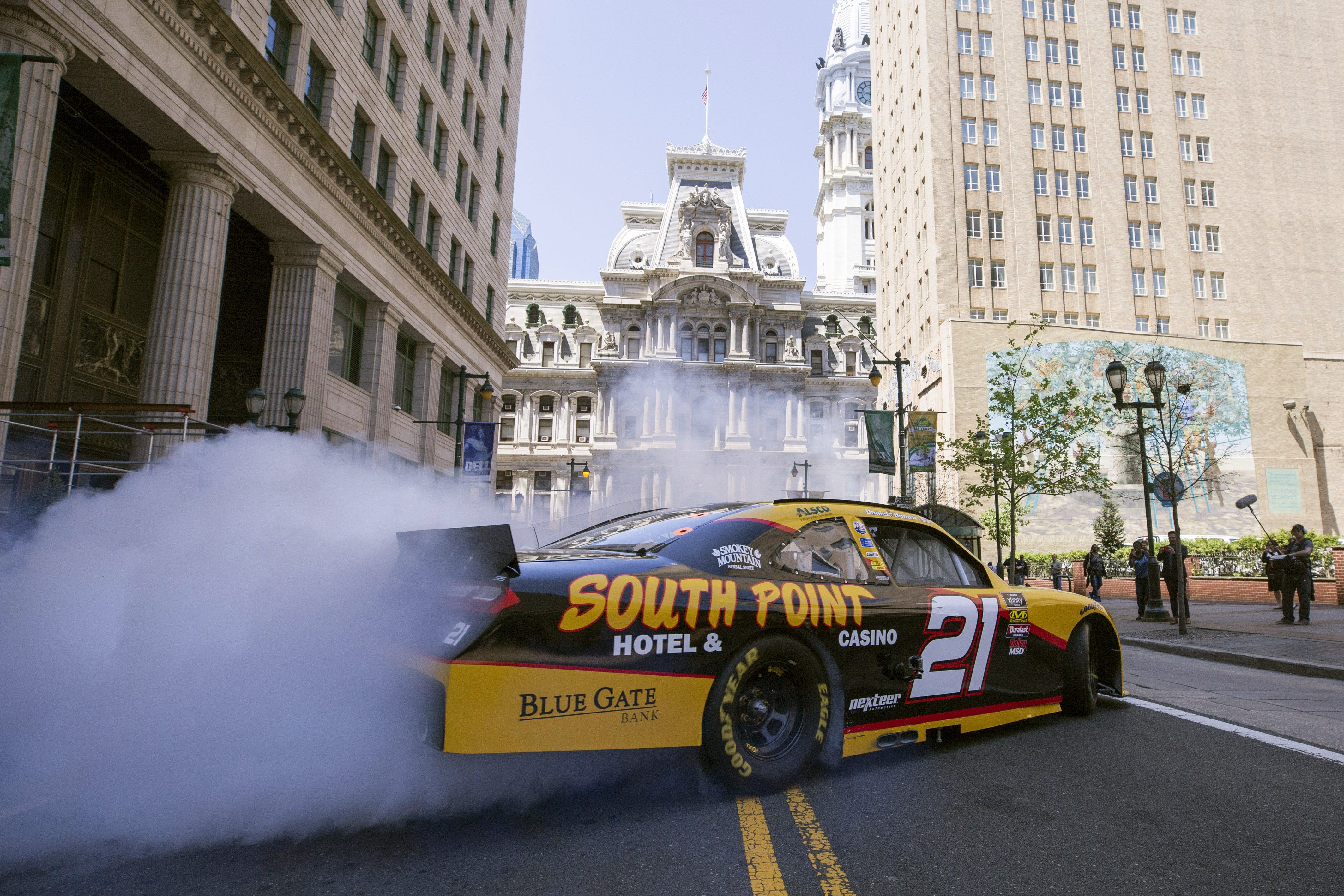 Ride with Daniel Hemric Through the Streets of Philly