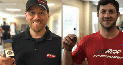 RCR, ECR Employees Show Off Daytona 500 Rings