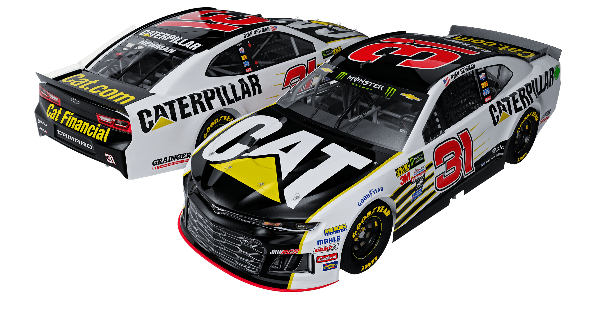 Ryan Newman 2018 No. 31 Caterpillar Chevrolet 1:24 Diecast