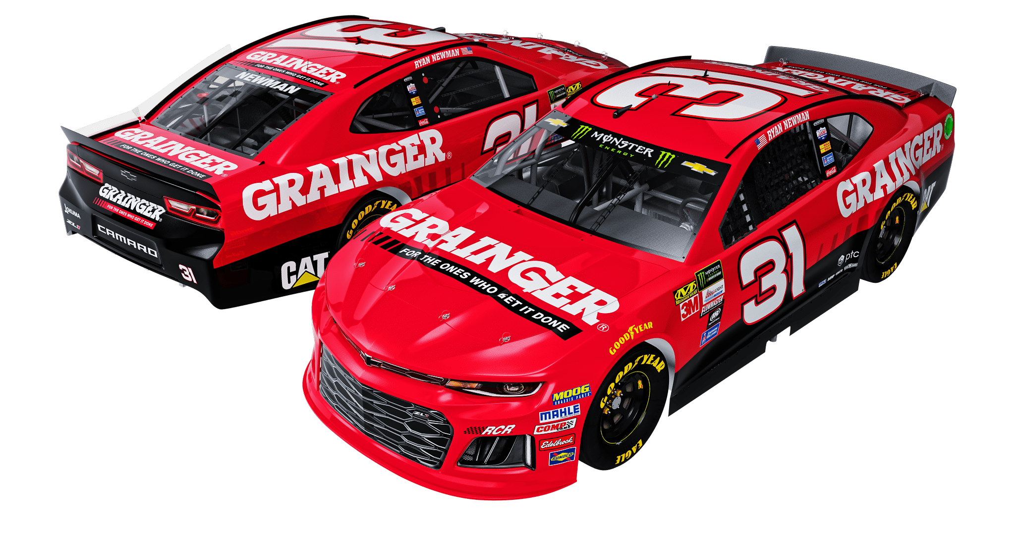 Ryan Newman 2018 No. 31 Grainger Chevrolet 1:24 Diecast