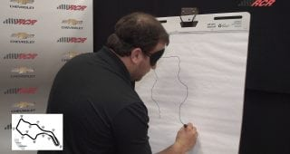 Drawing the Road Courses: Sonoma Raceway