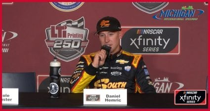 Daniel Hemric Will Ponder Final Restart at Michigan