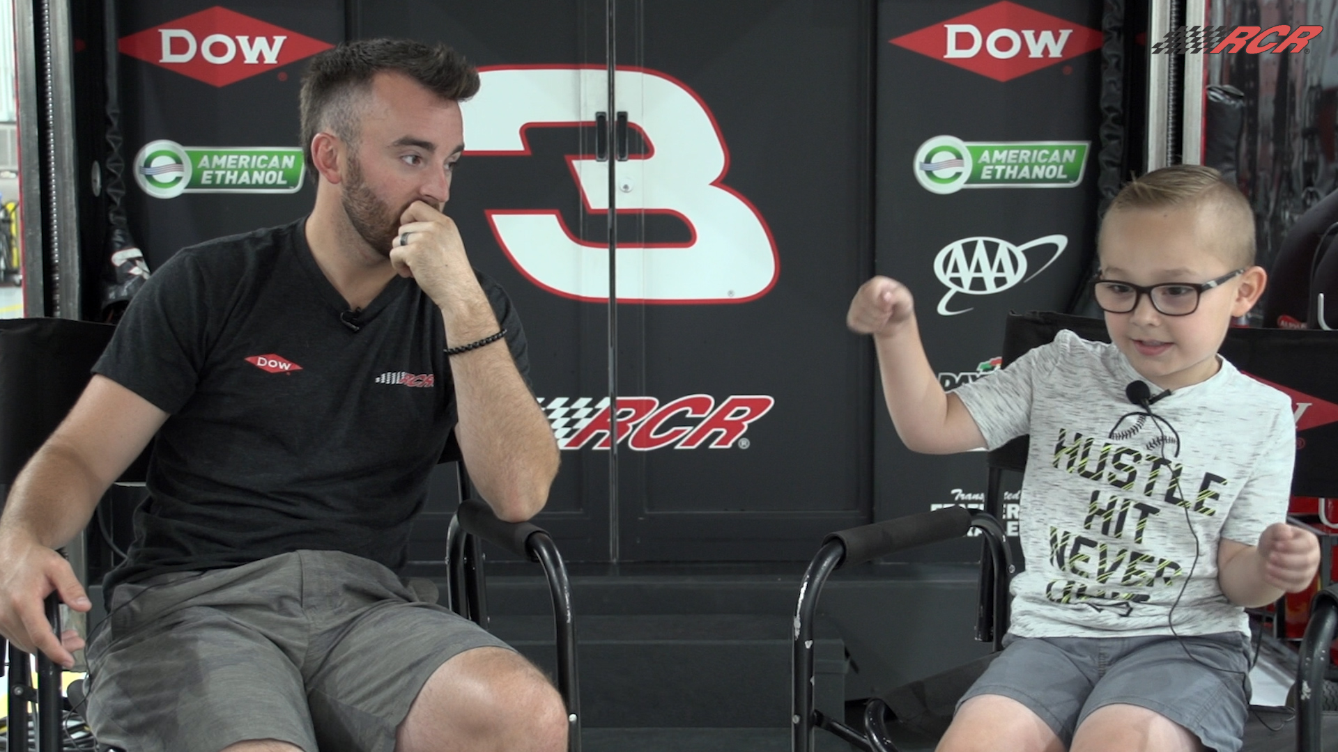Kids Say the Darndest Things: Austin Dillon and Easton