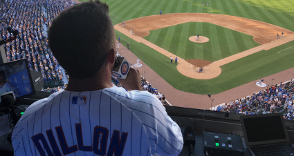 Dillon Sings 'Take Me Out to the Ball Game' at Wrigley Field