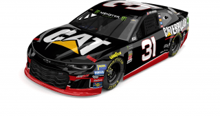 Ryan Newman and the No. 31 Caterpillar Chevrolet Camaro ZL1 will honor Neil Bonnett's 1993 ride with RCR for the annual NASCAR Throwback weekend at Darlington Raceway in September.