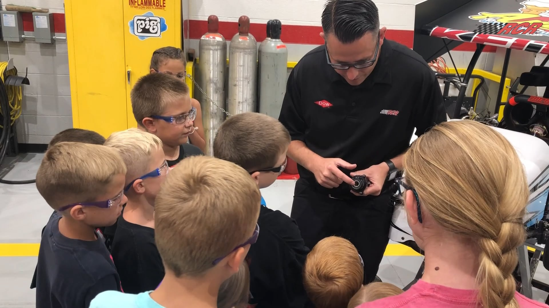Richard Childress Racing Hosts Kids Camp and STEM Day