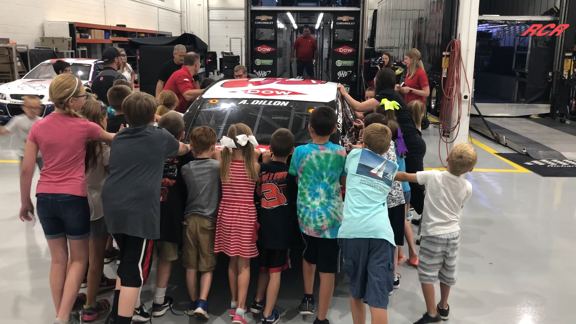 RCR STEM Day: Kids Design Paint Schemes, Race Cars and Load Hauler