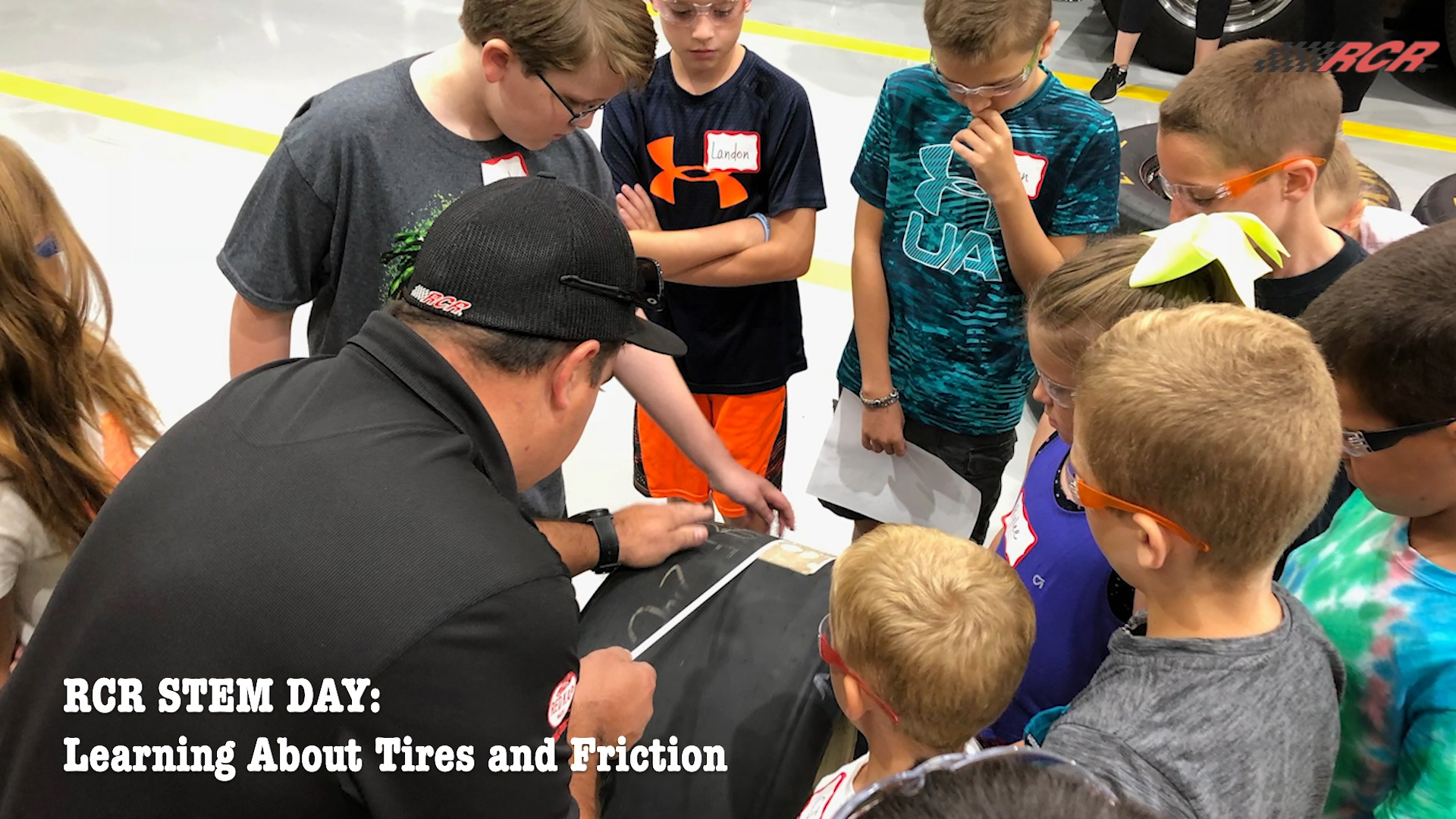 RCR STEM Day: Kids Learn About Tires and Friction
