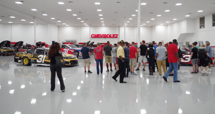 Active Duty Military Members Visit Richard Childress Racing