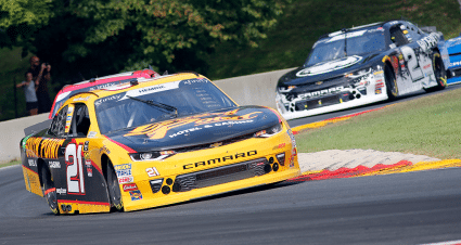Road America Shows Strength of RCR Xfinity Series Team