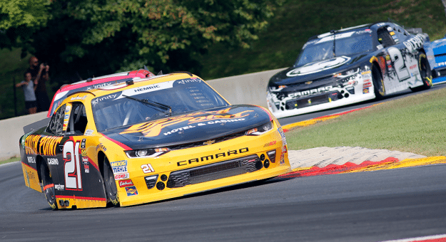 Both Daniel Hemric and Matt Tifft had strong runs at Road America.