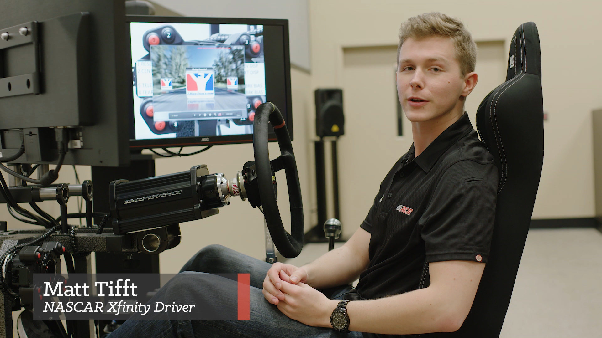 iRacing with the Pros: Matt Tifft Takes Us Around Road America