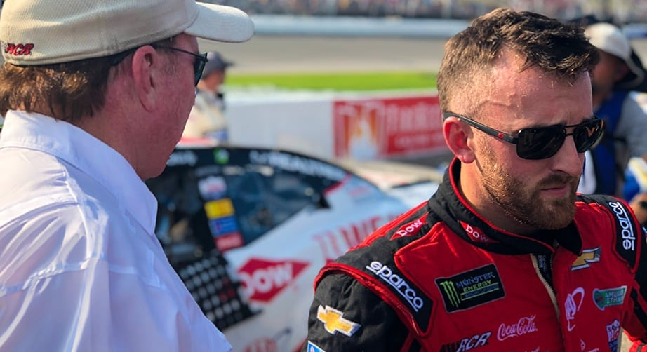 Dillon on Fourth-Place Finish: 'We Really Needed That'