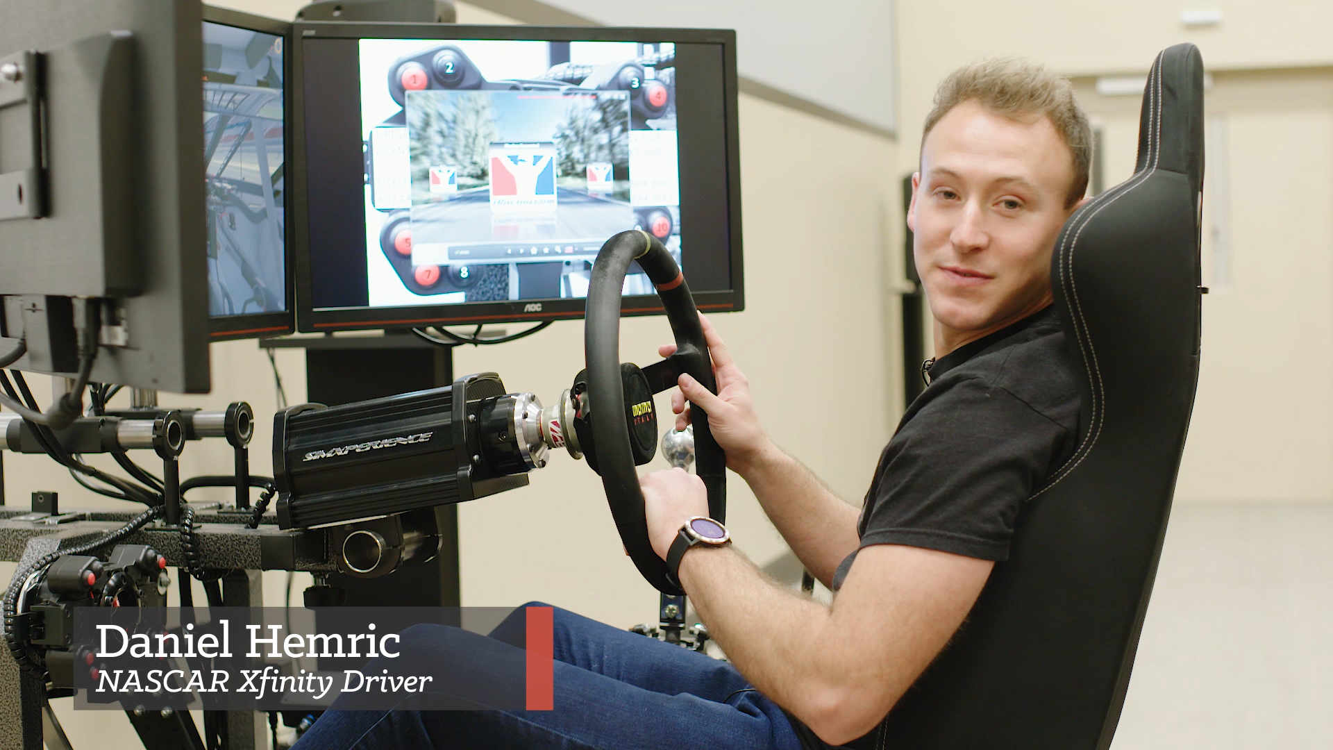 iRacing with the Pros: Daniel Hemric Takes Us Around Las Vegas Motor Speedway
