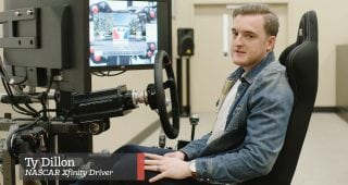iRacing with the Pros: Ty Dillon Takes Us Around Indianapolis