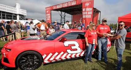 AAA, Austin Dillon Give Away Chevrolet Camaro ZL1 to Lucky Fan