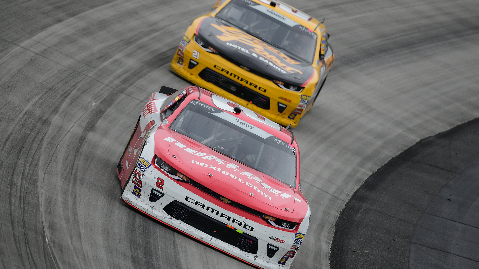 Hemric, Tifft Preview Xfinity Series Playoffs Race at Dover