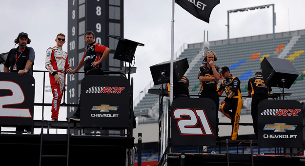 Matt Tifft and Daniel Hemric both had strong outings at the Charlotte Motor Speedway Roval, the second race of the Xfinity Series Playoffs.
