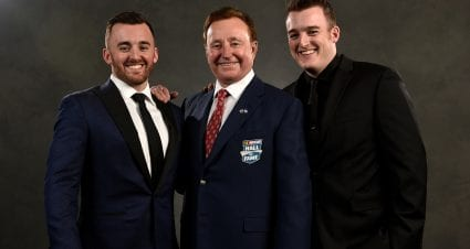 Drivers Discuss Racing for Richard Childress on National Boss Day
