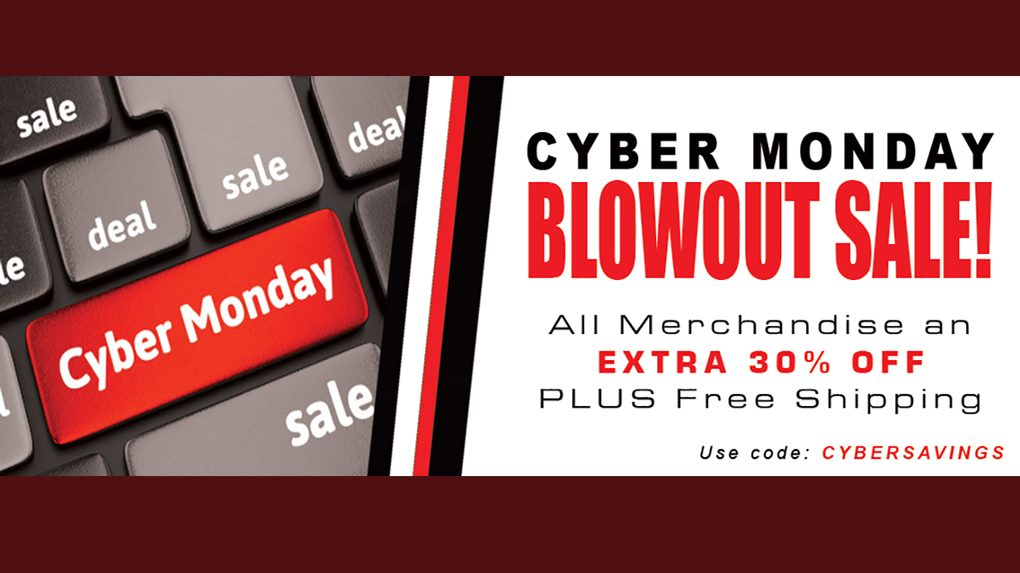 Cyber Monday Sale Banner Richard Childress Racing