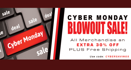 Cyber Monday Deals at the RCR Store