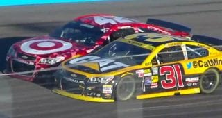 From the Vault: Ryan Newman punts Kyle Larson in 2014 at Phoenix