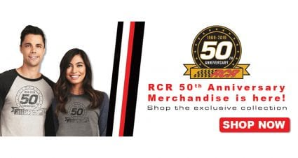 RCR 50th Anniversary Merchandise is Here – Shop Now!