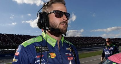 Childress 'Proud' to Have Lambert Back to Work with Hemric, No. 8 team