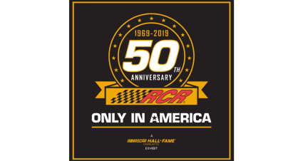 NASCAR Hall of Fame Partners with RCR on 50th Anniversary Celebration Exhibit