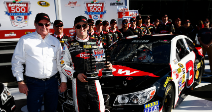 RCR 50 Throwback Thursday: Dillon Puts No. 3 on Daytona 500 Pole