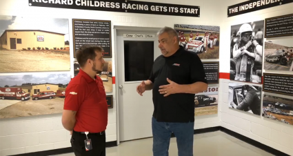 Museum Monday: Richard Childress Racing Timeline Wall