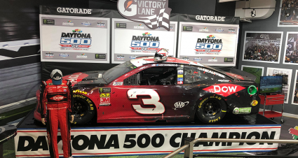 Austin Dillon's Daytona 500 Winning Chevy Finds Home in RCR Museum
